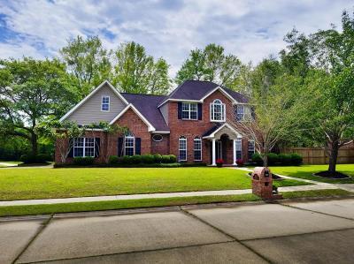 Ocean Springs Single Family Home For Sale: 2528 Faulkner Ct