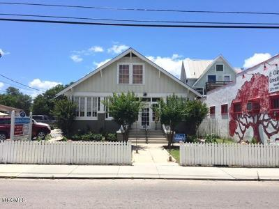Bay St. Louis Single Family Home For Sale: 216 Main St