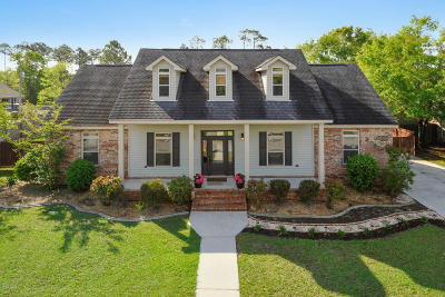 Waveland Single Family Home For Sale: 123 Seabrook Dr