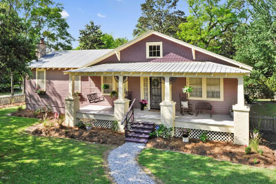 Waveland Single Family Home For Sale: 515 Nicholson Ave