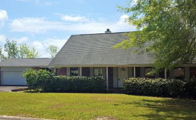 Ocean Springs Single Family Home For Sale: 5409 Pontiac St
