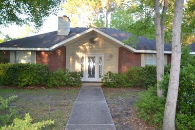 Diamondhead Single Family Home For Sale: 8316 Amoka Dr
