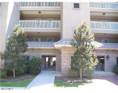 Ocean Springs Condo/Townhouse For Sale: 613 Camellia Pointe #F 103