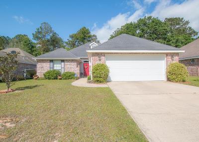 Gulfport Single Family Home For Sale: 11538 Azalea Trce