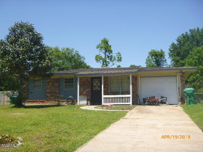 Gulfport Single Family Home For Sale: 104 Estes St