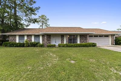 Gulfport Single Family Home For Sale: 11533 Lafitte Pl