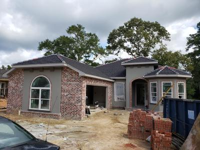 Diamondhead Single Family Home For Sale: Lot 5 Highpoint Dr