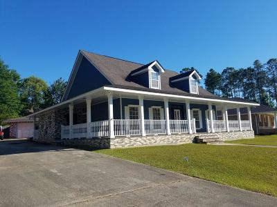 Diamondhead Single Family Home For Sale: 85560 W Diamondhead Dr