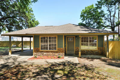 Gulfport Single Family Home For Sale: 1220 Church St