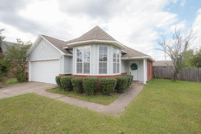 Gulfport Single Family Home For Sale: 14154 Maple Ct