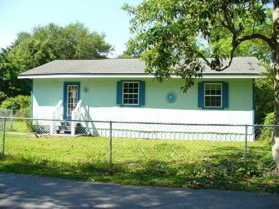 Waveland Single Family Home For Sale: 509 Saint Anthony St