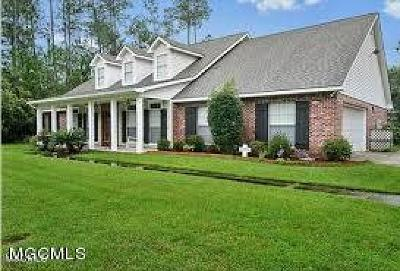 Diamondhead Single Family Home For Sale: 8428 Amoka Pl