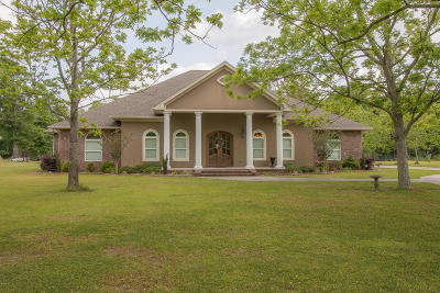 Biloxi Single Family Home For Sale: 15824 Lamey Dr