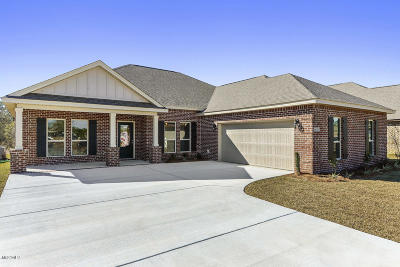 Gulfport Single Family Home For Sale: 10810 Chapelwood Dr