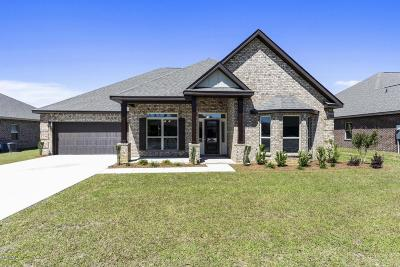 Gulfport Single Family Home For Sale: 10631 Harvest Dr