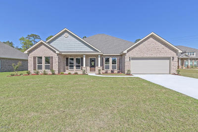 Gulfport Single Family Home For Sale: 10805 Chapelwood