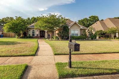 Ocean Springs Single Family Home For Sale: 2113 Whitney Oaks Dr