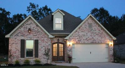 Ocean Springs Single Family Home For Sale: 3912 Acadian Village Dr
