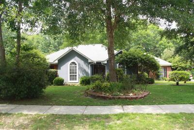 Ocean Springs Single Family Home For Sale: 3507 Redwood Ln