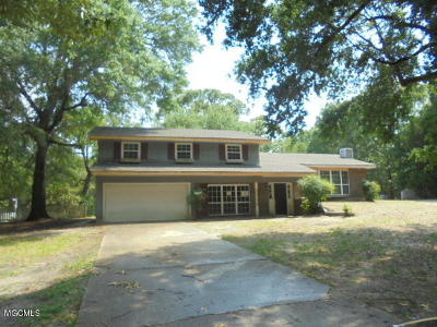 Pass Christian Single Family Home For Sale: 26191 Elm Rd