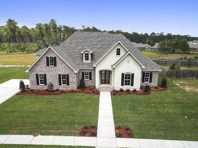 Ocean Springs Single Family Home For Sale: 9915 W Mockingbird Cir