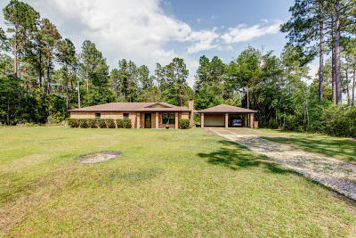 Biloxi Single Family Home For Sale: 14582 Hudson Krohn Rd