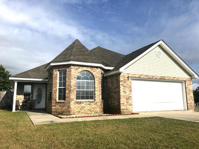 Gulfport Single Family Home For Sale: 14293 Christina Michelle Ct