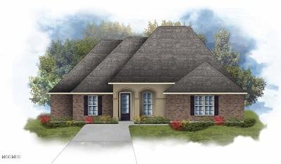 Biloxi MS Single Family Home For Sale: $281,530