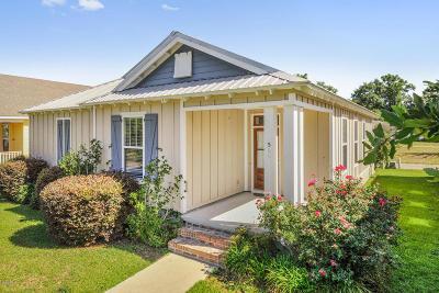 Bay St. Louis Single Family Home For Sale: 506 John Baptiste St