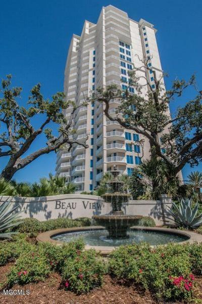 Biloxi Condo/Townhouse For Sale: 2668 Beach Blvd #403