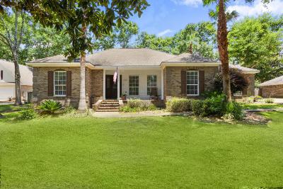 Ocean Springs Single Family Home For Sale: 3605 Fernwood Dr