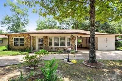Diamondhead Single Family Home For Sale: 88375 E Diamondhead Dr