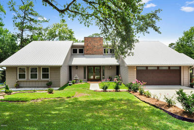 Diamondhead Single Family Home For Sale: 548 Lakeview Ct