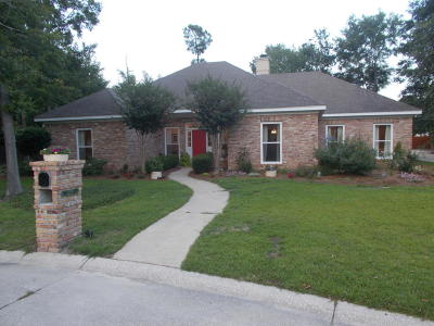Gulfport Single Family Home For Sale: 9165 Mulberry Pl