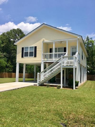 Ocean Springs Single Family Home For Sale: 2500 N 13th St