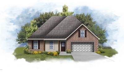 Ocean Springs Single Family Home For Sale: 12795 Jackson Lee Dr