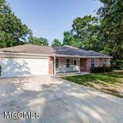 Ocean Springs Single Family Home For Sale: 1500 S 7th St