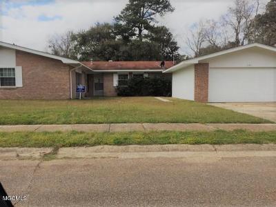 Biloxi Single Family Home For Sale: 791 Sharon Hills Dr