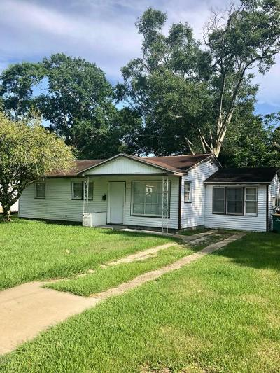 Biloxi Single Family Home For Sale: 1633 Sunset Blvd