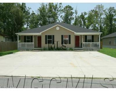 Ocean Springs Multi Family Home For Sale: 8809 Elm Ave #A & B