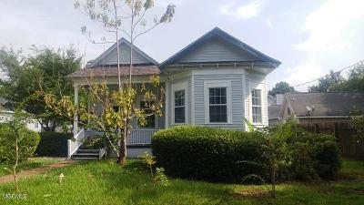 Gulfport Single Family Home For Sale: 228 Commerce St