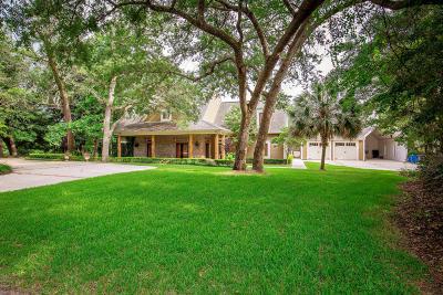 Ocean Springs Single Family Home For Sale: 9621 Oak Crest Ln