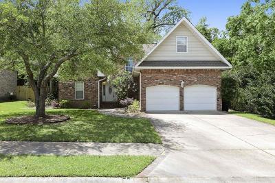 Ocean Springs Single Family Home For Sale: 809 Magnolia Bayou Blvd