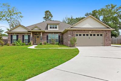 Ocean Springs Single Family Home For Sale: 1112 Meadowlark Cv
