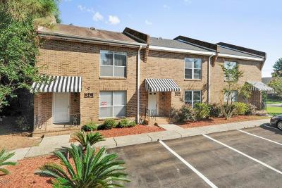 Bay St. Louis Condo/Townhouse For Sale: 503 B Sunset Dr