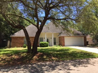Ocean Springs Single Family Home For Sale: 1524 S 8th St