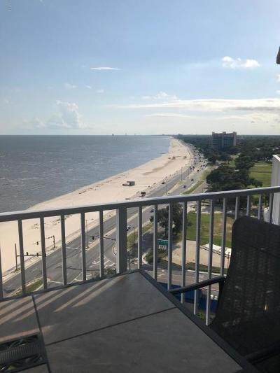 Biloxi Single Family Home For Sale: 2668 Beach Blvd #1605