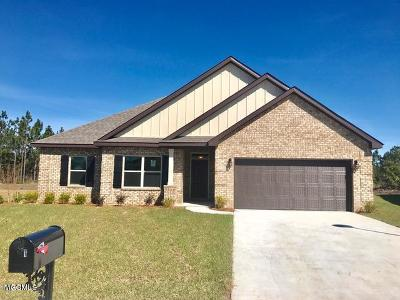 Biloxi Single Family Home For Sale: 8418 Poplar Trl