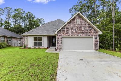 Diamondhead Single Family Home For Sale: 8427 Kaleki Way