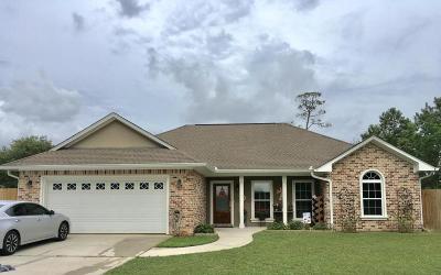 Ocean Springs Single Family Home For Sale: 8902 Seaman Rd